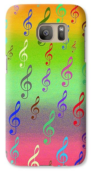 Galaxy Case featuring the digital art Symphony Of Colors by Angel Jesus De la Fuente