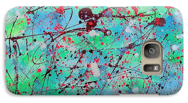 Galaxy Case featuring the painting Symphony by Patrick Morgan