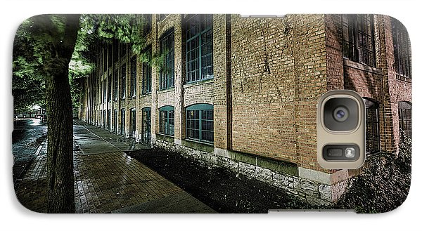 Galaxy Case featuring the photograph Syracuse Sidewalks by Everet Regal