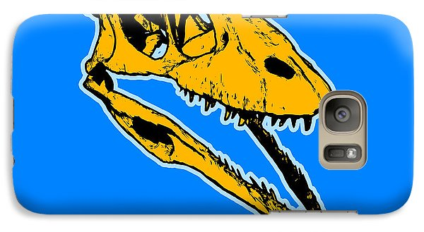T-rex Graphic Galaxy Case by Pixel  Chimp