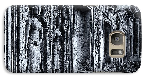 Galaxy Case featuring the photograph Ta Phrom Cambodia by Kathy Adams Clark
