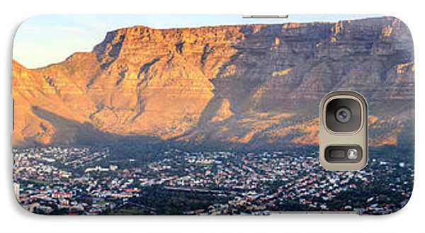 Galaxy Case featuring the photograph Table Mountain by Alexey Stiop