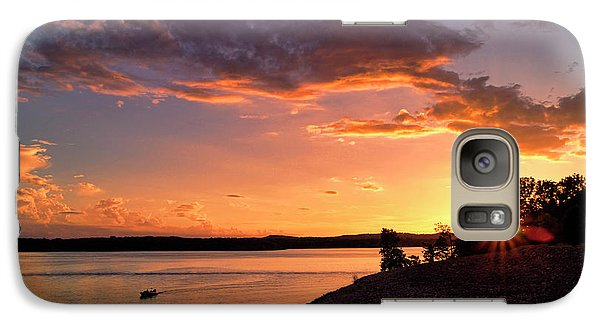 Galaxy Case featuring the photograph Table Rock Sunset by Cricket Hackmann