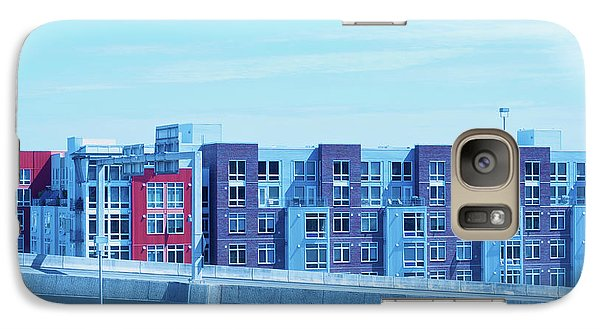 Galaxy Case featuring the photograph Tacoma Blues - Cityscape Art Print by Jane Eleanor Nicholas