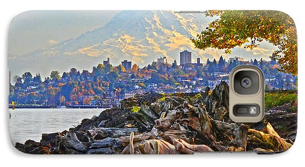 Tacoma In The Fall Galaxy S7 Case