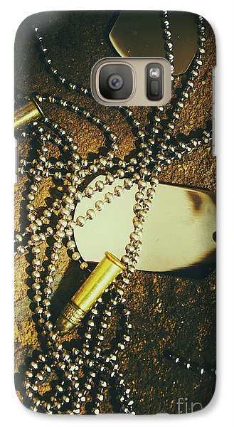 Galaxy Case featuring the photograph Tagging The Fallen by Jorgo Photography - Wall Art Gallery