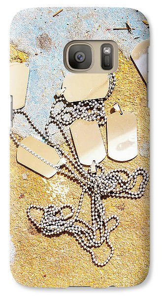 Galaxy Case featuring the photograph Tags Of War by Jorgo Photography - Wall Art Gallery