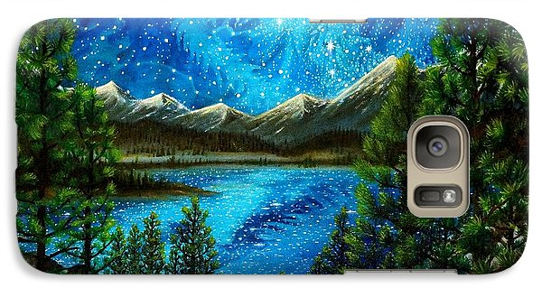 Galaxy Case featuring the painting Tahoe A Long Time Ago by Matt Konar