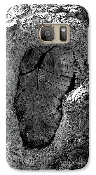Galaxy Case featuring the photograph Tahoe Abstract Bark by LeeAnn McLaneGoetz McLaneGoetzStudioLLCcom