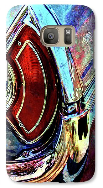 Galaxy Case featuring the digital art Tail Fender by Greg Sharpe