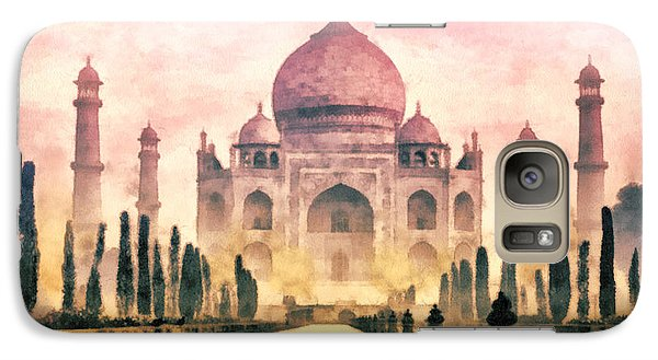 Mo Galaxy S7 Case - Taj Mahal by Mo T