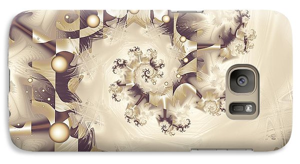 Galaxy Case featuring the digital art Take A Bow by Michelle H