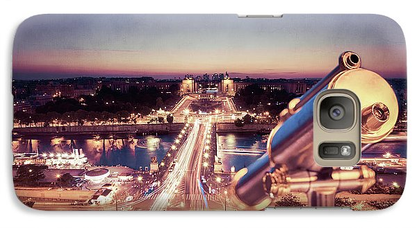 Galaxy Case featuring the photograph Take A Look At Paris by Hannes Cmarits