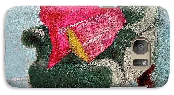 Galaxy Case featuring the painting Take A Rest by Linde Townsend