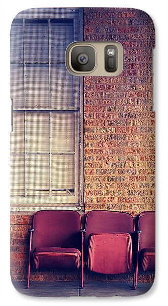 Galaxy Case featuring the photograph Take A Seat by Trish Mistric
