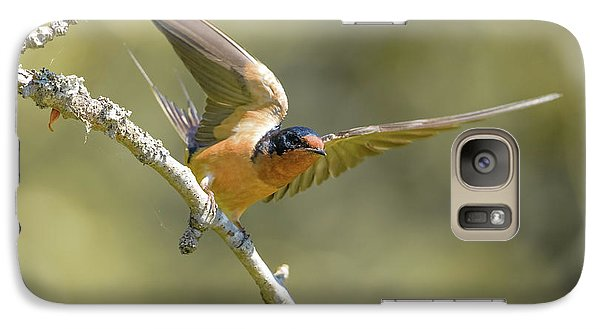 Galaxy Case featuring the photograph Take Off by Kathy King