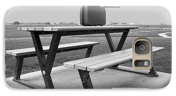 Galaxy Case featuring the photograph Takeoff And  Landing by Bill Thomson