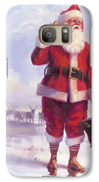 Elf Galaxy S7 Case - Taking A Break by Steve Henderson