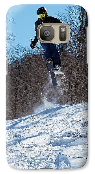 Galaxy Case featuring the photograph Taking Air On Mccauley Mountain by David Patterson