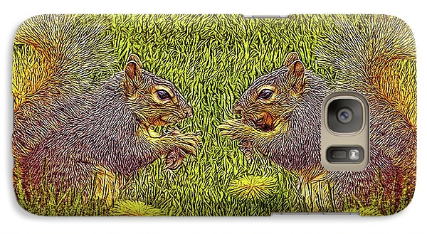 Tale Of Two Squirrels Galaxy S7 Case