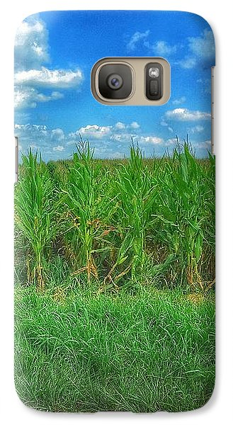Galaxy Case featuring the photograph Tall Corn by Jame Hayes