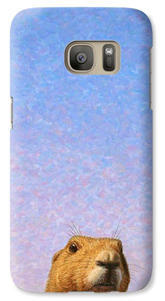Tall Prairie Dog Galaxy Case by James W Johnson