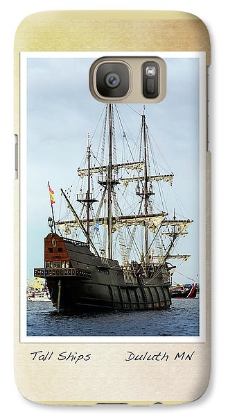 Galaxy Case featuring the photograph Tall Ships V2 by Heidi Hermes
