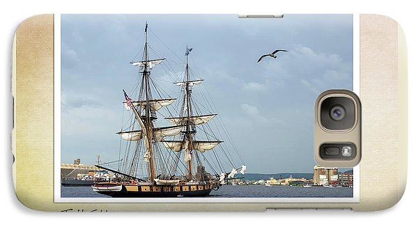 Galaxy Case featuring the photograph Tall Ships V3 by Heidi Hermes