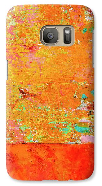Galaxy Case featuring the photograph Tangerine Dream by Skip Hunt