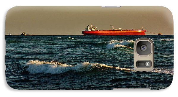 Galaxy Case featuring the photograph Tanker Nordic Zenith by Craig Wood