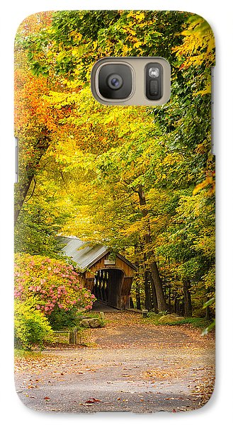 Tannery Hill Covered Bridge Galaxy S7 Case