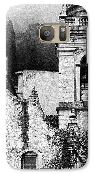 Taormina Church Detail Galaxy S7 Case by Silvia Ganora