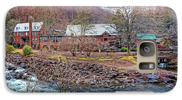Galaxy Case featuring the photograph Tapoco Lodge by Debra and Dave Vanderlaan