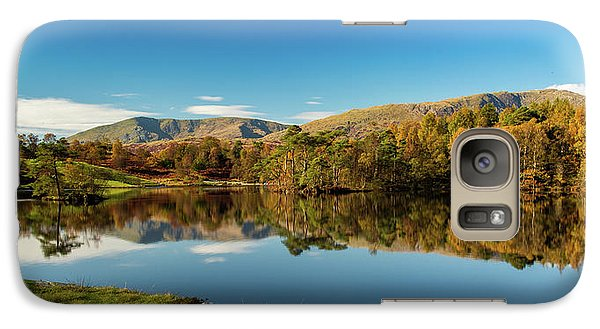Galaxy Case featuring the photograph Tarn Hows by Mike Taylor