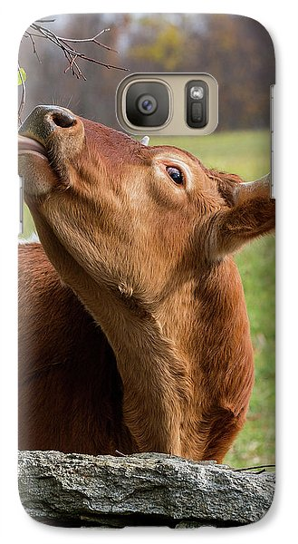 Galaxy S7 Case featuring the photograph Tasty by Bill Wakeley