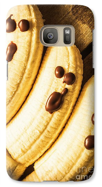 Banana Galaxy S7 Case - Tasty Healthy Halloween Treats For Kids by Jorgo Photography - Wall Art Gallery