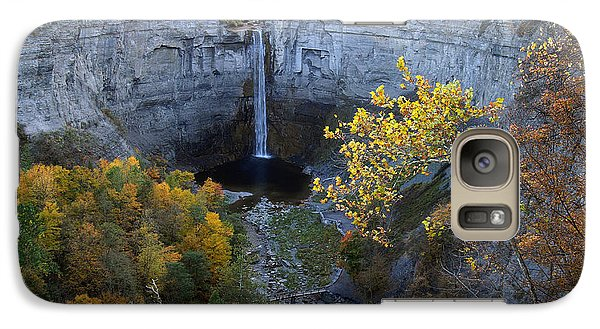 Galaxy Case featuring the photograph Taughannock Falls by Vilas Malankar