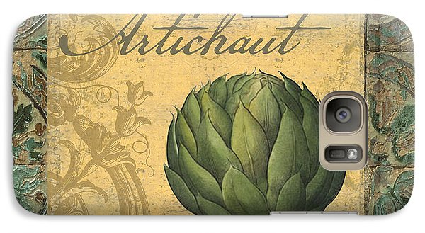 Tavolo, Italian Table, Artichoke Galaxy S7 Case by Mindy Sommers
