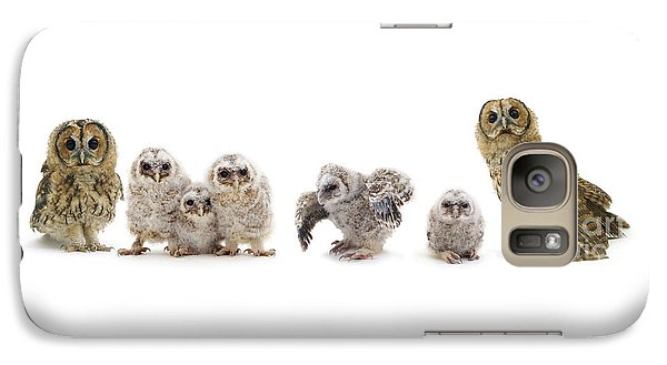 Tawny Owl Family Galaxy S7 Case