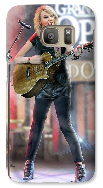 Taylor At The Opry Galaxy S7 Case by Don Olea