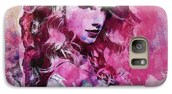 Taylor Swift - Oncore Galaxy S7 Case by Sir Josef - Social Critic - ART