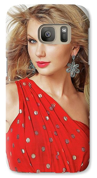 Taylor Swift Galaxy S7 Case by Twinkle Mehta