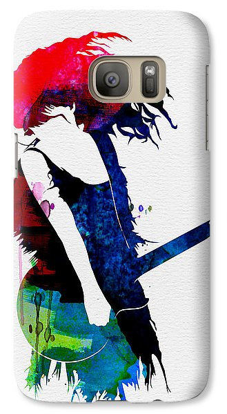 Taylor Watercolor Galaxy S7 Case by Naxart Studio