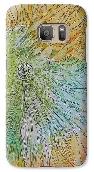 Galaxy Case featuring the drawing Te-fiti by Marat Essex