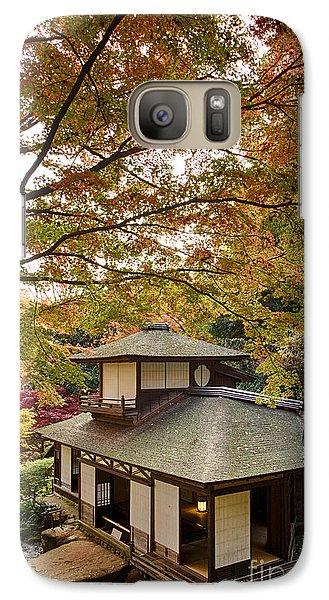 Galaxy Case featuring the photograph Tea Ceremony Room by Tad Kanazaki