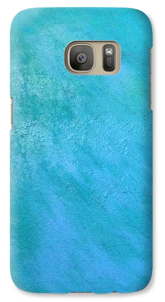 Galaxy Case featuring the painting Teal by Antonio Romero
