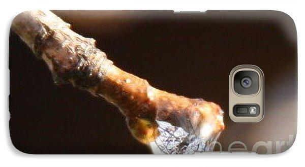 Galaxy Case featuring the photograph Tearfulness by Jolanta Anna Karolska
