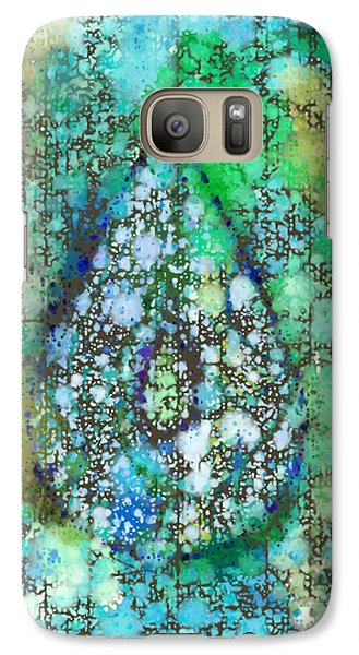 Tears Of Growth Galaxy S7 Case by Auset Anumari