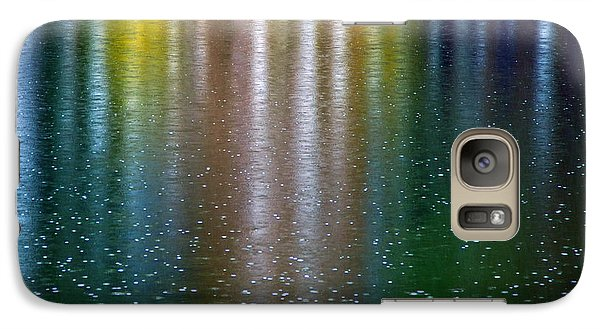 Galaxy Case featuring the photograph Tears On A Rainbow by John Haldane