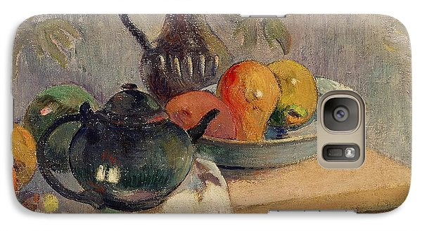 Mango Galaxy S7 Case - Teiera Brocca E Frutta by Paul Gauguin